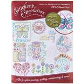 Flower Power Iron-On Embroidery Patterns